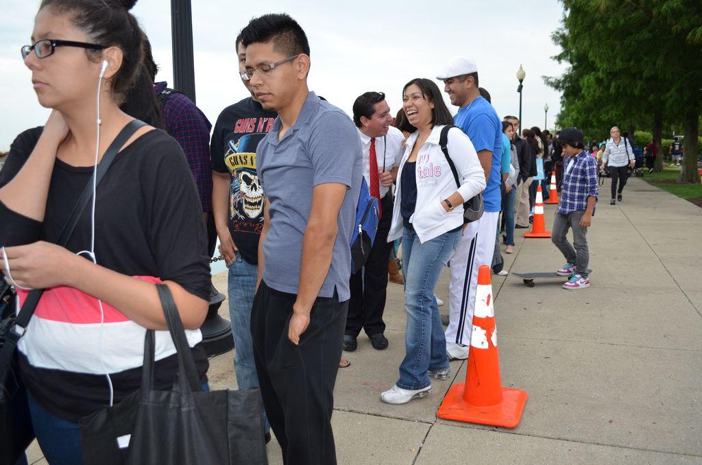 Se esperaba que llegaran unos 7,500 jóvenes; pero casi 15,000 personas asistieron al evento, más que en cualquier otra ciudad de la nación, indicó la ICIRR.