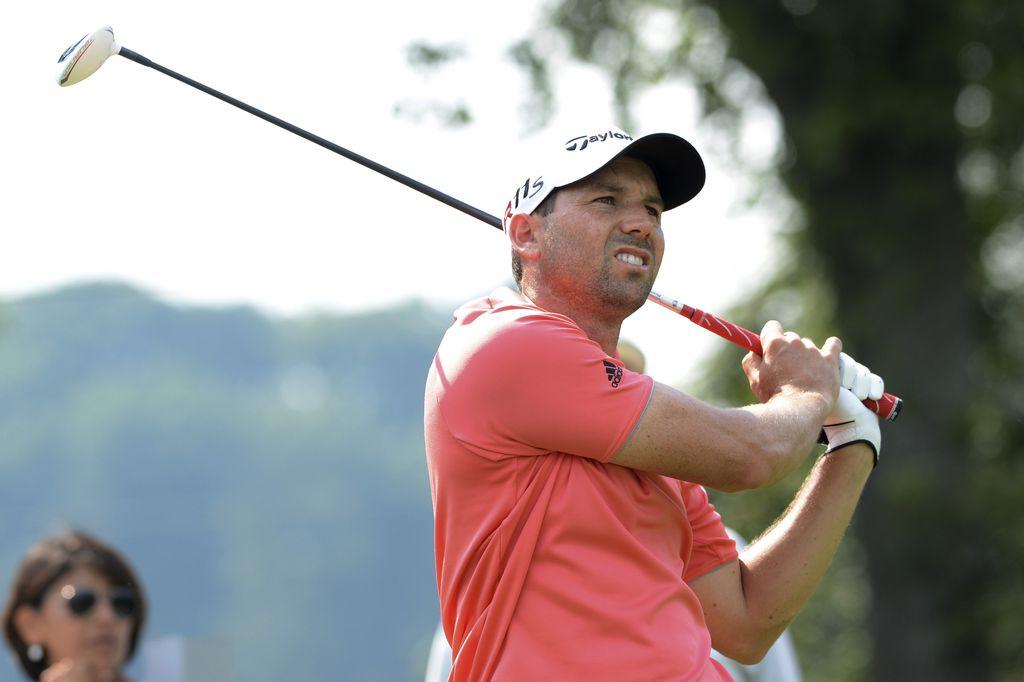 Golf: Sergio García ya lidera The Barclays