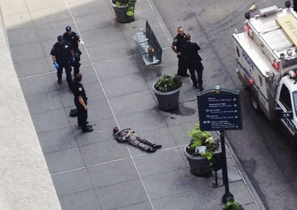 Policía hirió a algunas víctimas del tiroteo en el Empire State (fotos y video)