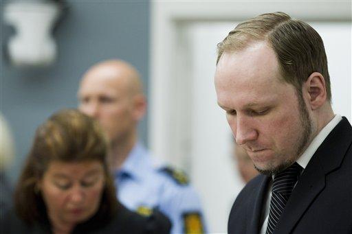 Breivik condenado a 21 años de cárcel por atentados de Noruega