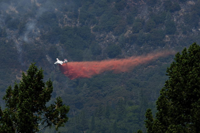 Incendio amenaza a un parque nacional