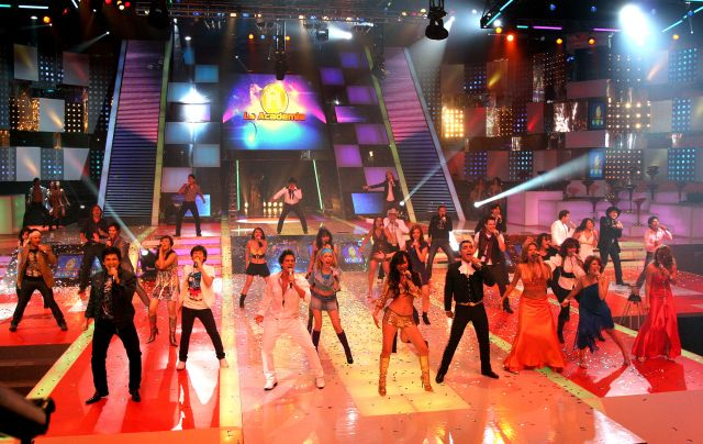 Los elencos de diversos programas de Azteca estuvieron presentes.