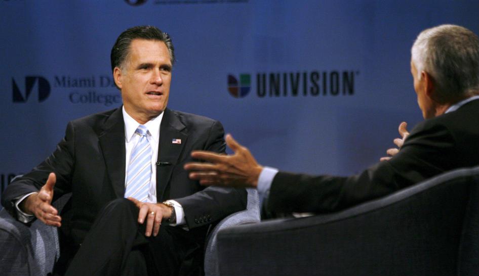 Aspirantes presidenciales debatirán en Univisión