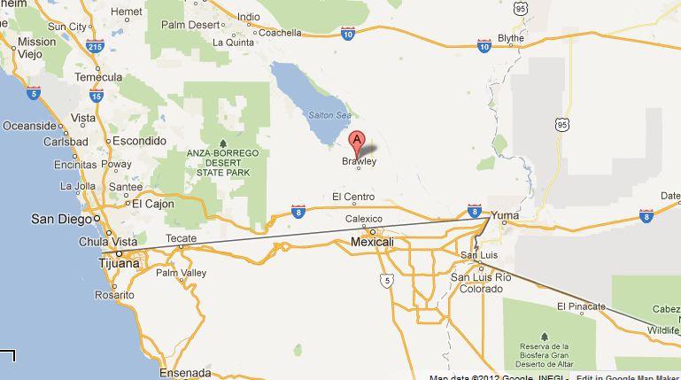 Sismo sacude frontera de California y México