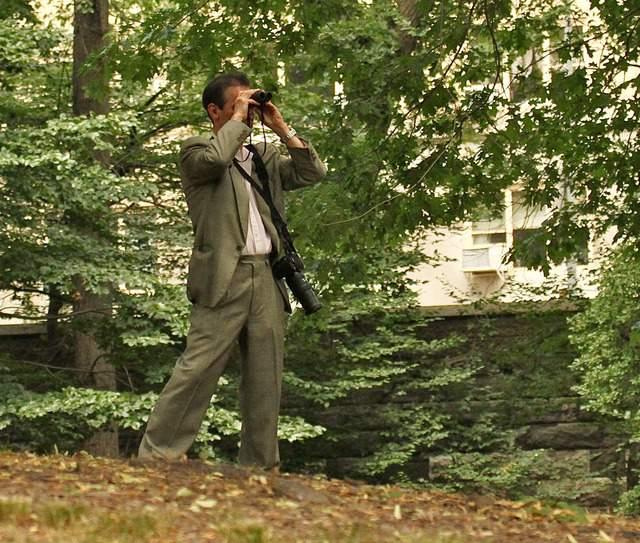Jeffrey Johnson, quien mató a Steve Ercolino, pasaba largas horas en el Central Park mirando a los halcones con sus prismáticos.