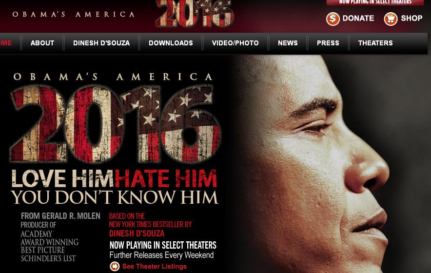 Cinta en contra de Obama es de las más taquilleras (Video)