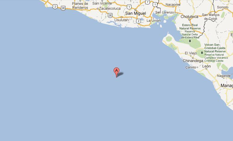 Al menos 85 réplicas tras sismo en el Pacífico de El Salvador
