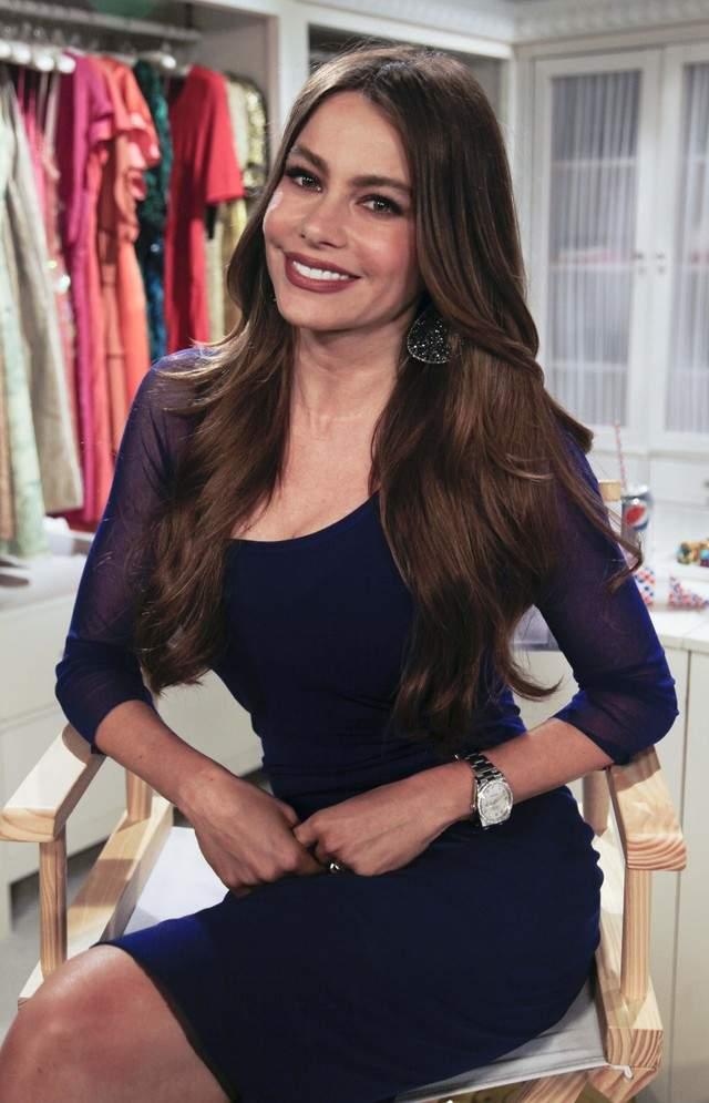 Sofía Vergara está comprometida con el empresario  Nick Loeb.