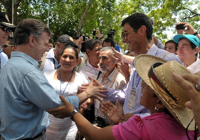 Diálogo por la paz colombiana