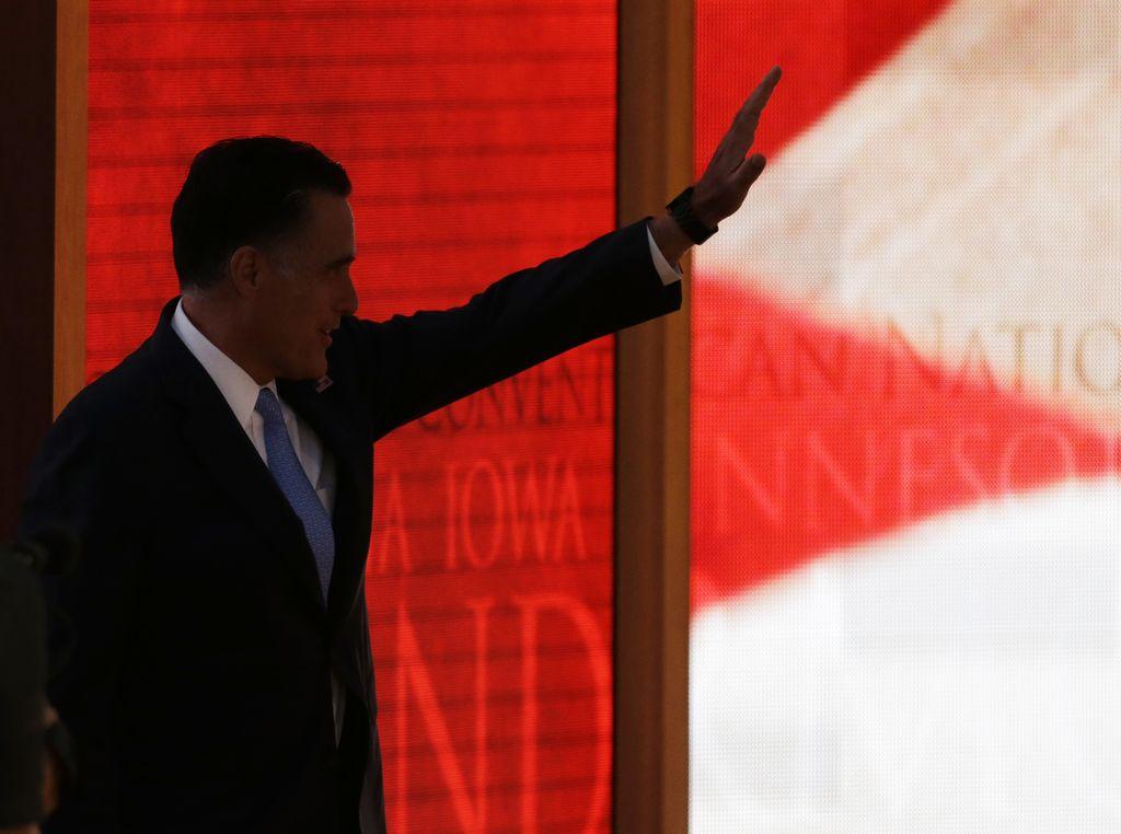 Romney se prepara para ungirse como el candidato republicano (fotos y video)