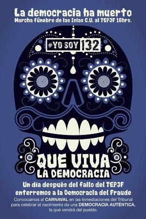 La democracia ha muerto.