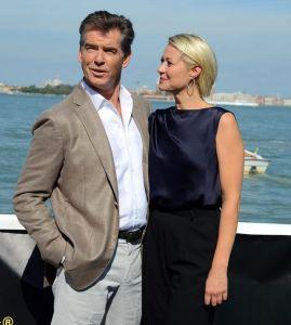 Fue aclamado en Venecia Pierce Brosnan triunfa en Venecia con la cinta danesa 'Love Is All You Need'