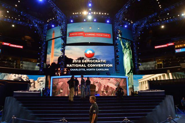 En la convención programada para el 4 de septiembre de 2012 se espera la nominación del presidente estadounidense Barack Obama como su candidato.