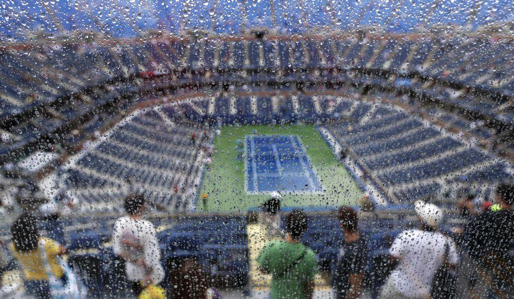 US Open: pospuesto el choque entre Del Potro y Roddick