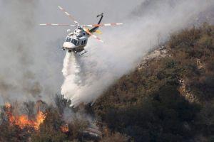 Fuego en Bosque Nacional de LA seguirá 10 días más (video, fotos)