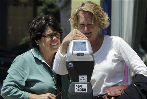 Los parquímetros de San Francisco no descansan en feriado