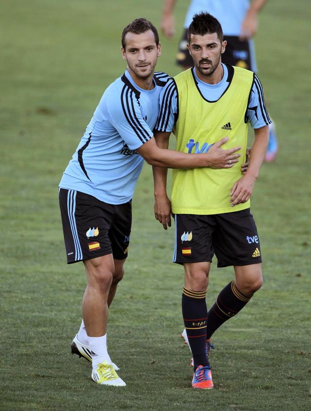 David Villa ya está con  España