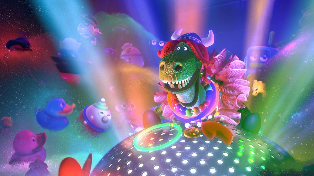 Animador español da vida a 'Partysaurus Rex' (VIDEO)