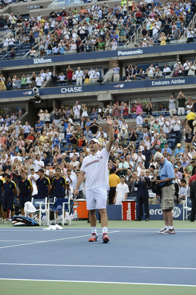 Del Potro despide a  Andy Roddick