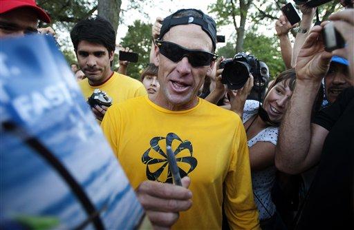 Prohíben a Armstrong correr maratón de Chicago por dopaje