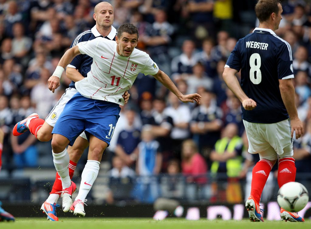 Eliminatorias Brasil 2014: Escocia 0-0 Serbia