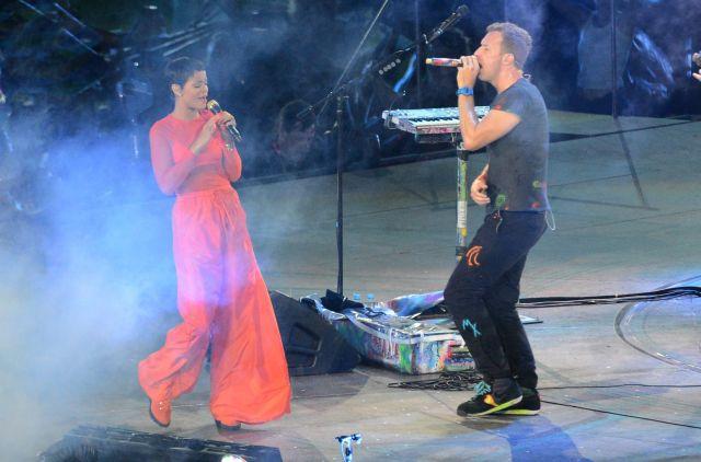 Rihanna y Coldplay bajan telón de Paralímpicos 2012 (Fotos)