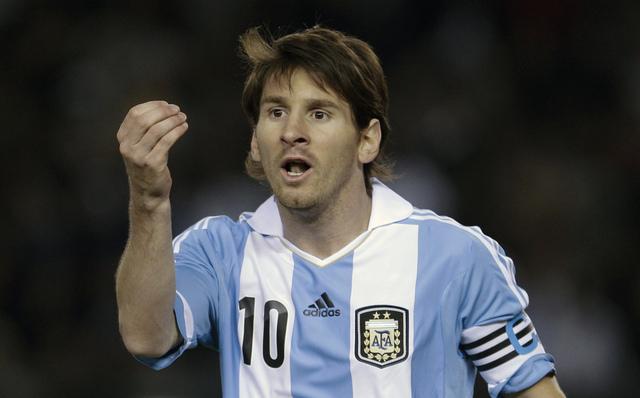 El idilio feliz de Messi