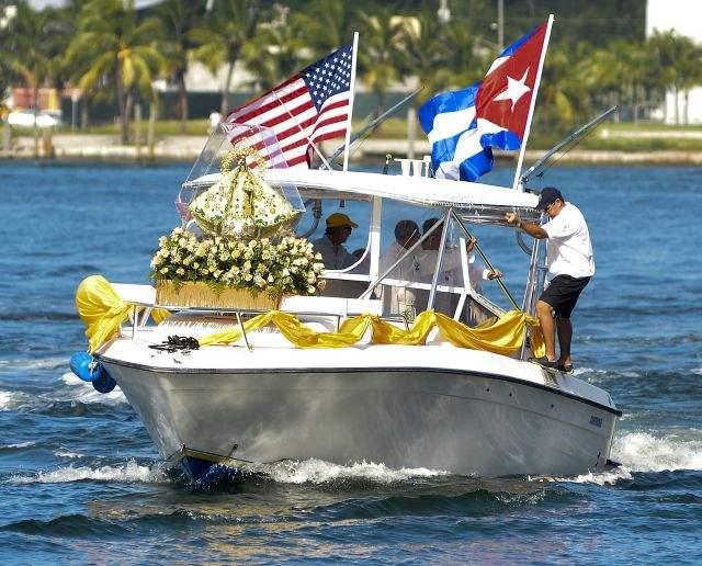 Miami celebra aniversario de Virgen de la Caridad del Cobre (Fotos)