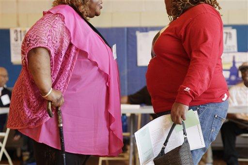 Hay obesos sanos (fotos)