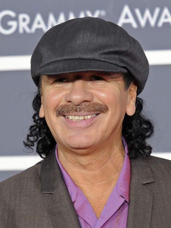 Carlos Santana escribe sus memorias (Fotos y video)