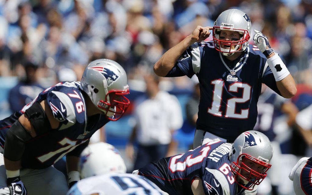 La ofensiva de los Patriots funciona de maravilla (fotos)