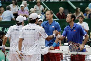 Copa Davis: Argentina contra las cuerdas y sin Del Potro (fotos)