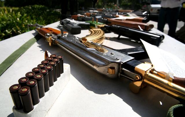 El acceso a las armas en los Estados Unidos es un tema de mucha polémica entre los ciudadanos del país.