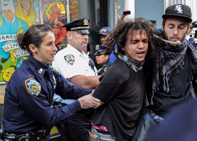 """""""Indignados"""" listos para masiva desobediencia en NY (Fotos)"""