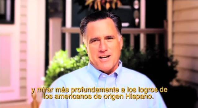 Romney celebra herencia hispana [Video]
