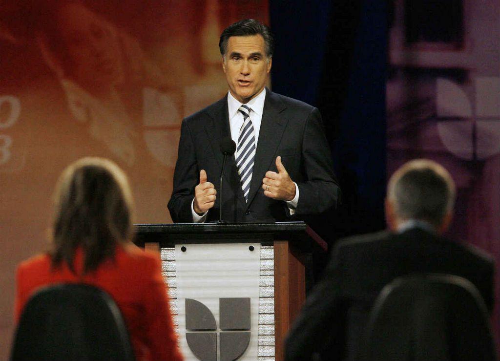 Romney hablará hoy con Univisión en Miami