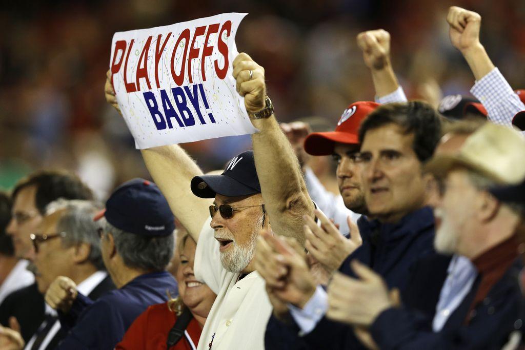 MLB: Washington 4-1 a Dodgers y los Nacionales hacen historia (fotos)
