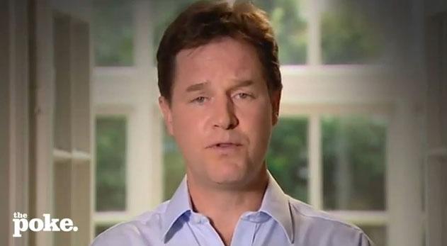 """El """"I'm sorry"""" del viceprimer ministro británico es un """"hit"""" en internet (Video)"""