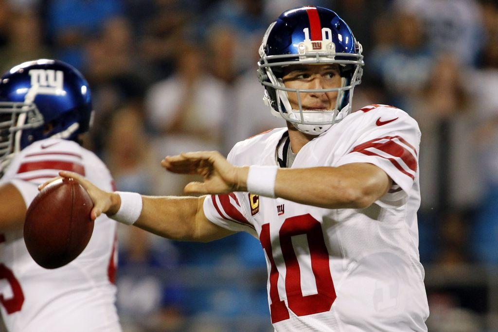 NFL: Giants barren 36-7 a Panthers (fotos)