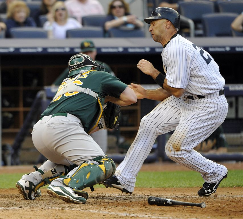 MLB: Yanquis 10-9 a Atléticos de Oakland (fotos)