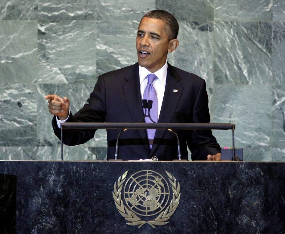 """Obama hace """"discreta"""" visita a NY para asistir a la ONU (Fotos y video)"""
