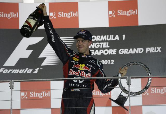Otro título para Vettel