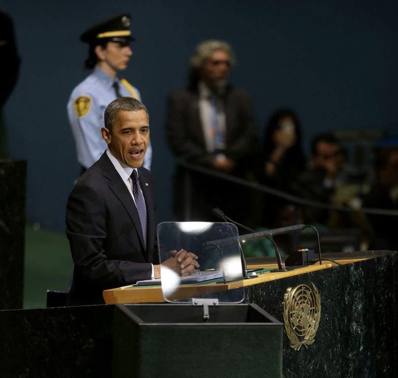 Obama: los crímenes del régimen sirio sí merecen protestas (Fotos)