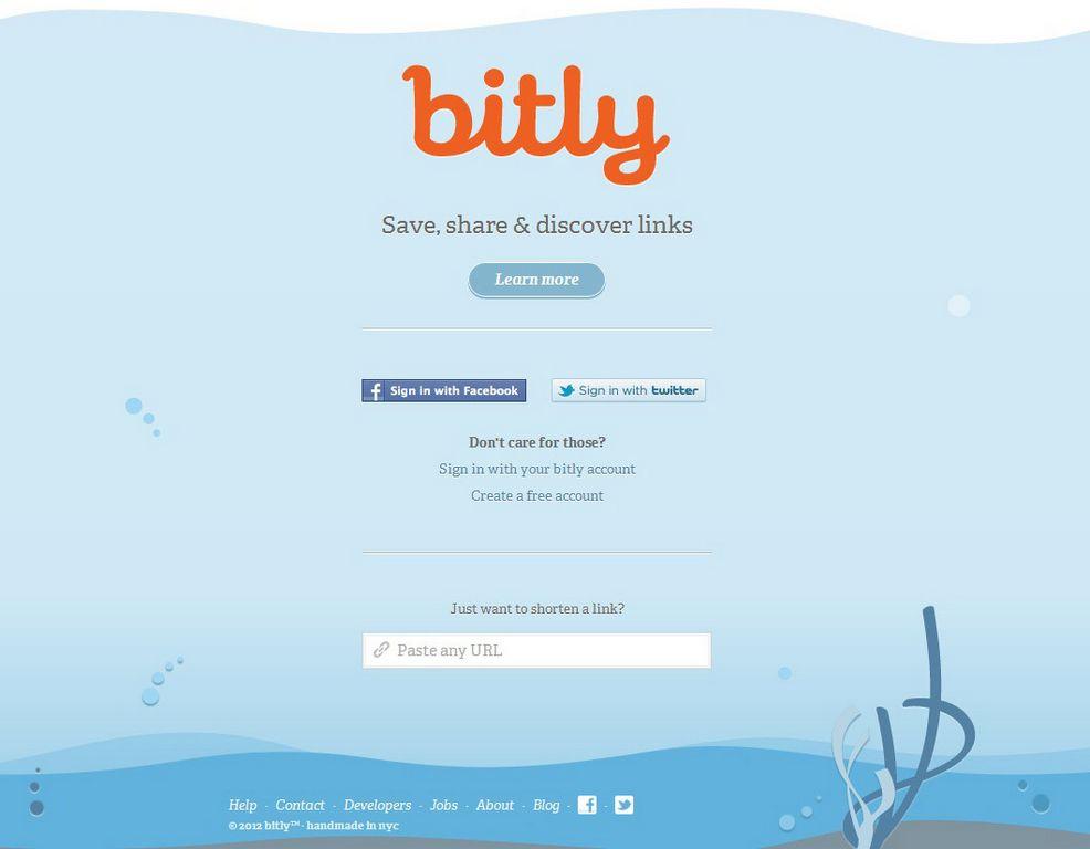 Cinco pasos para: Manejar tus links con Bitly