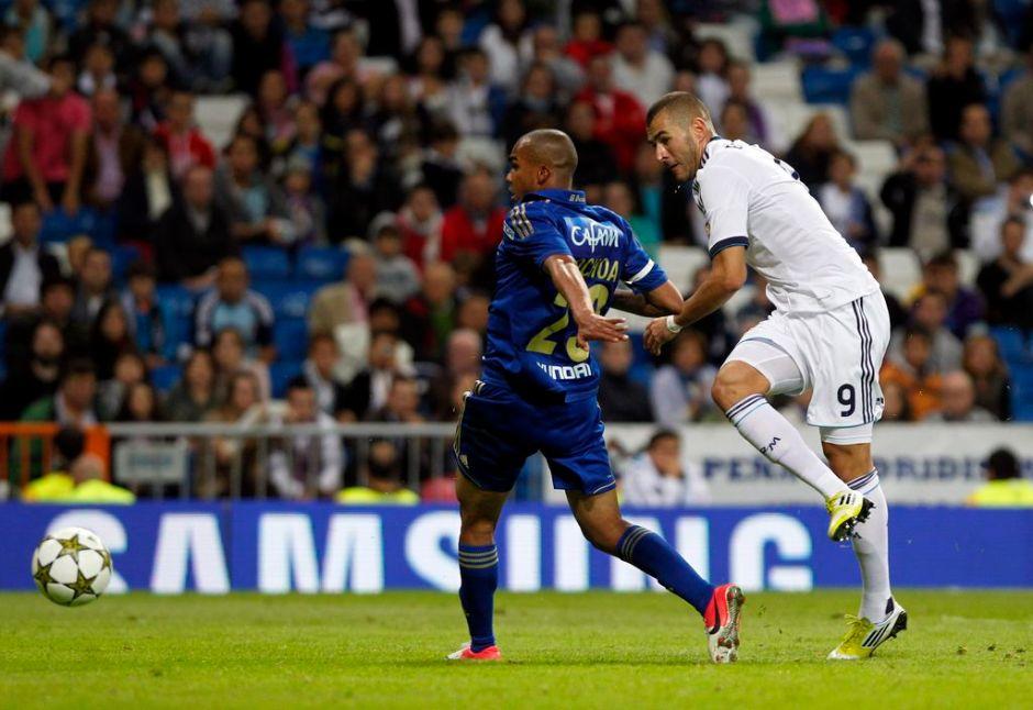 El Real Madrid golea a Millonarios (fotos)
