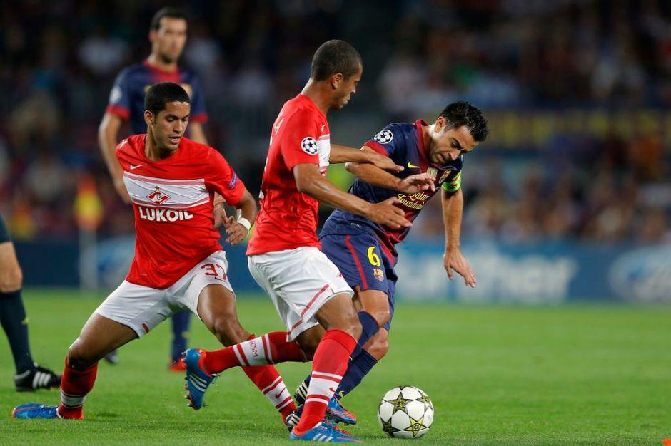 Rosell quiere que Xavi se retire en el Barcelona (fotos)