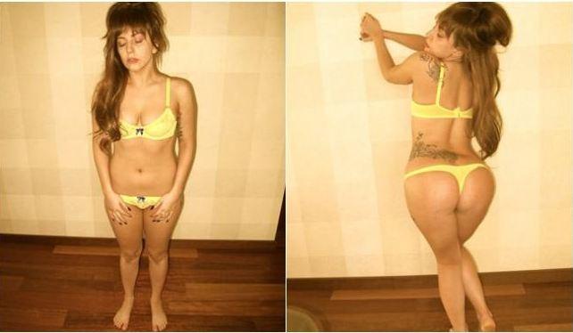 """Lady Gaga arma revolución del """"cuerpo"""" en red social (Fotos)"""