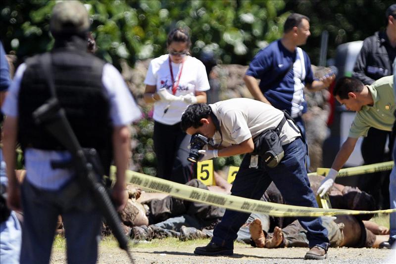Tiroteo causa diez muertos en México