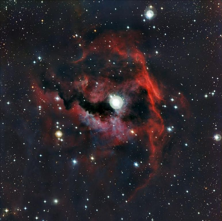 "Telescopio capta imagen de una ""gaviota cósmica"""