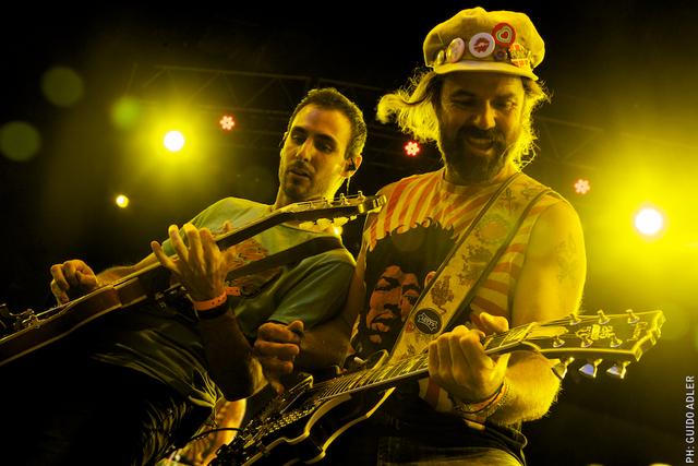 Jarabedepalo llega a LA con todo su rock (Fotos y video)
